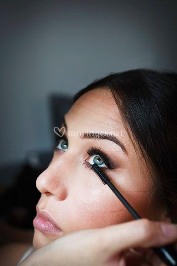 Les préparatifs maquillage