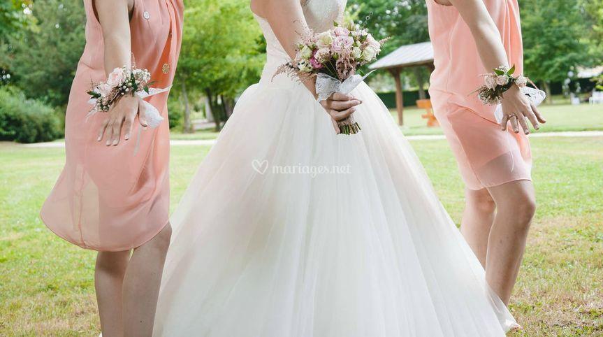 Bracelets floraux
