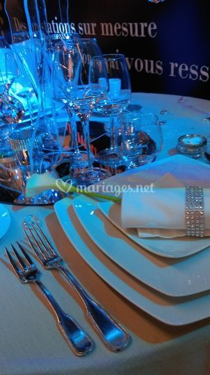 Mise en place de table