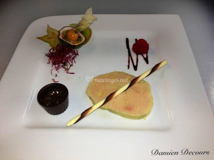 Foie gras, fantaisie chocolat