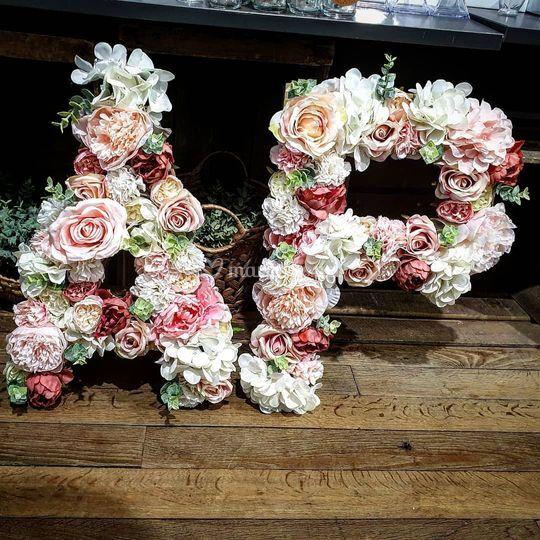 Initiales fleuris
