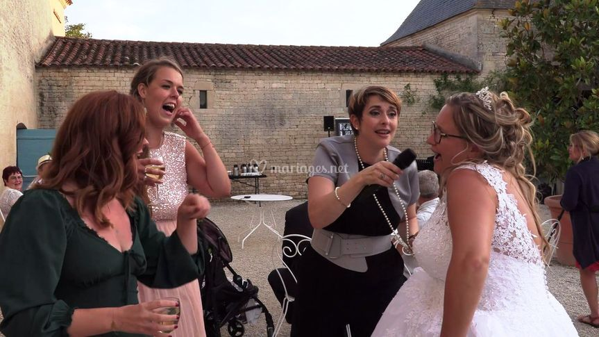 Faire chanter la mariée...