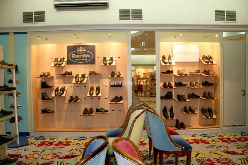 Corner chaussures Church's