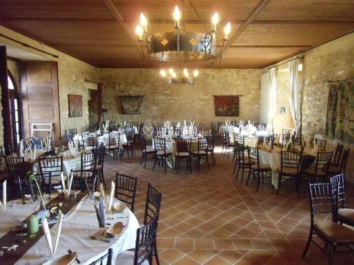 Salle des banquet Louis XIII