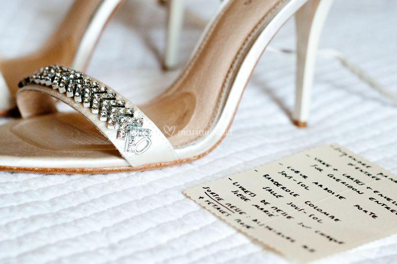 Détails, chaussures