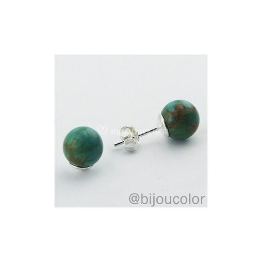 Puces turquoises
