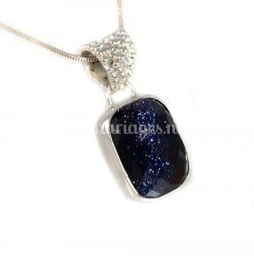 Pendentif blue sand stone