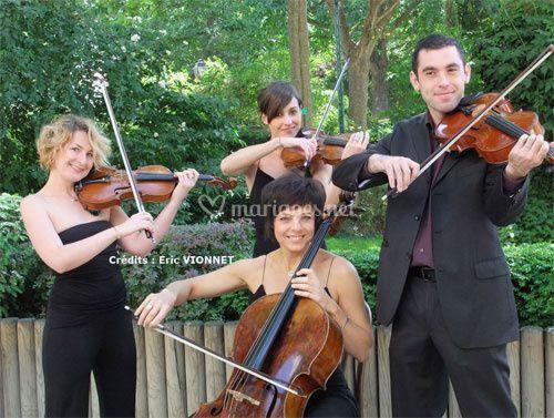 Quatuor à cordes pour mariages