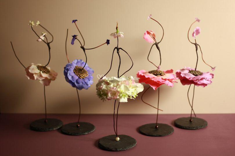 Danseuses en fleurs