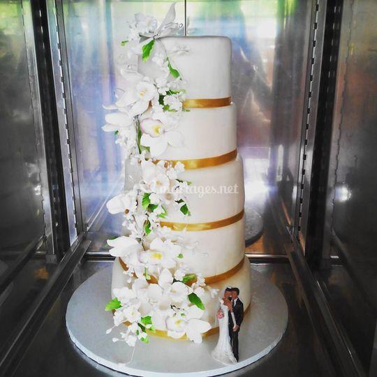 Wedding Cascade Orchidée