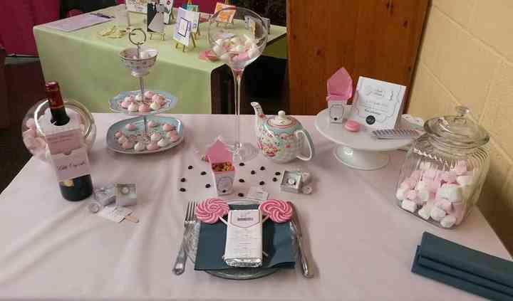 Table des mariés,gourmandise