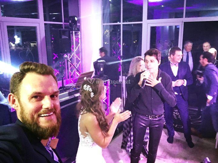 Jean Luc Lahaye Live wedding