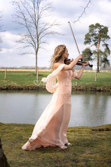 Violoniste pour la cérémonie