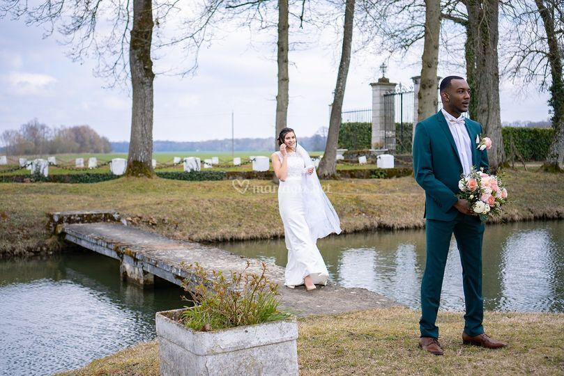 Mariage élégant et romantique