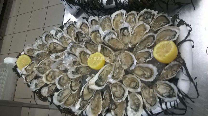 Plateau huîtres