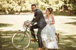 Mariés sur le vélo