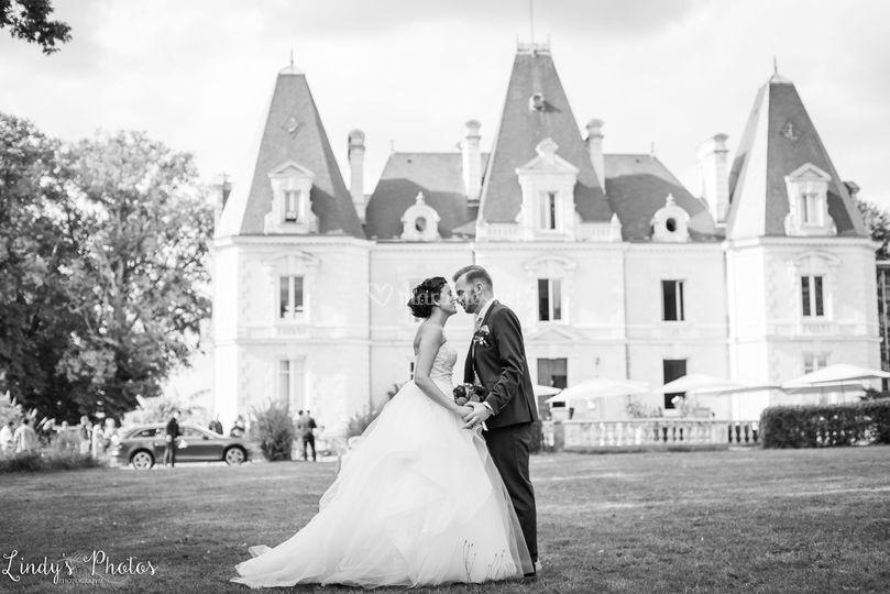 Mariés château le Paz