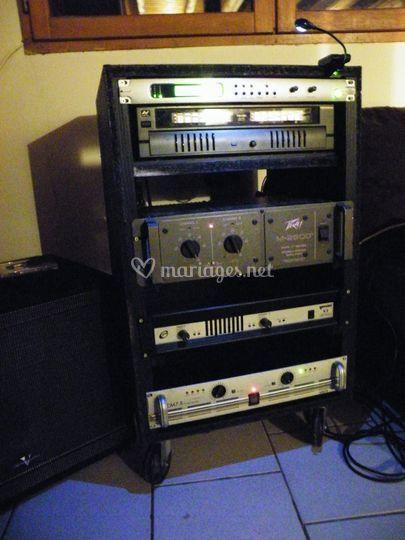 Rack d'amplification
