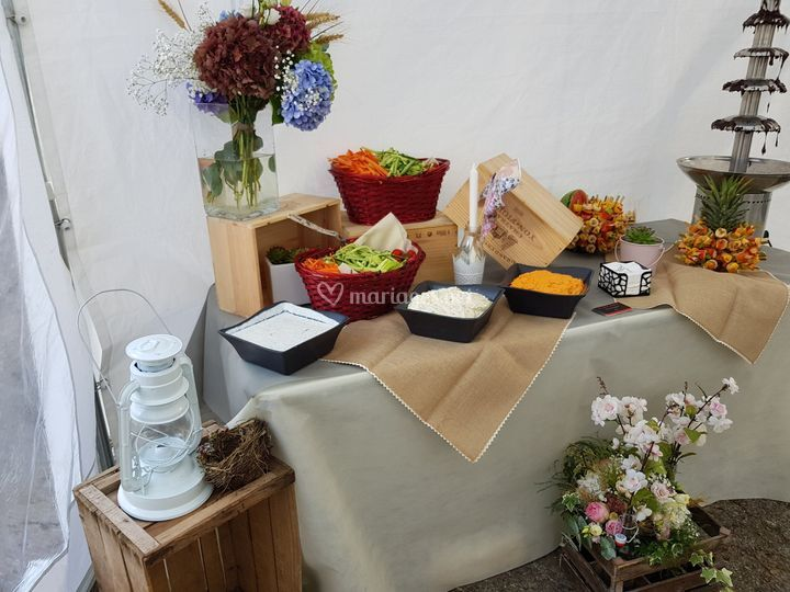 Buffet croq' légumes