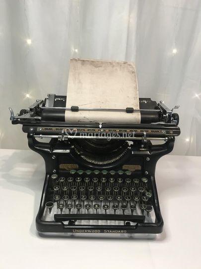 Location machine à écrire