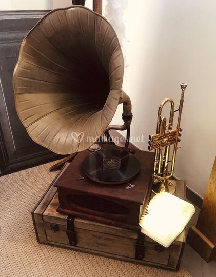 Location gramophone