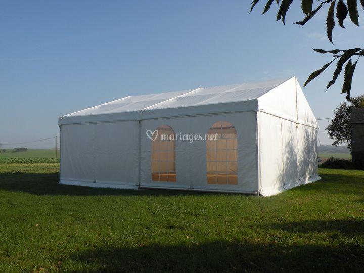 Tente de réception 100 m²