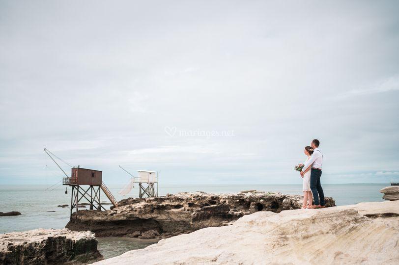 Mariage à St Palais sur Mer