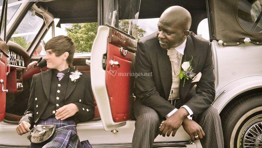 Transport de mariage