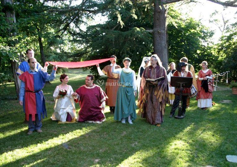 Epousailles médiévales
