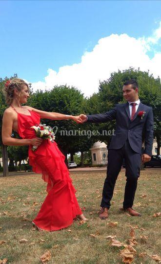 Mariage civile 2020 carole