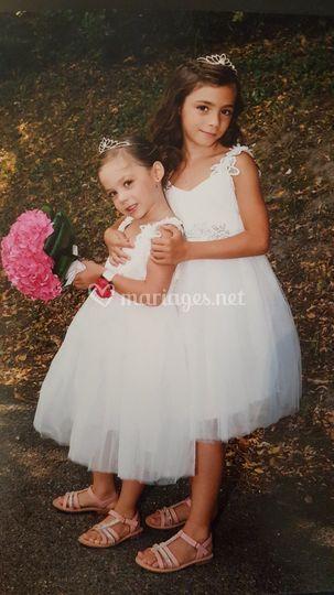 Robes enfants de princesses