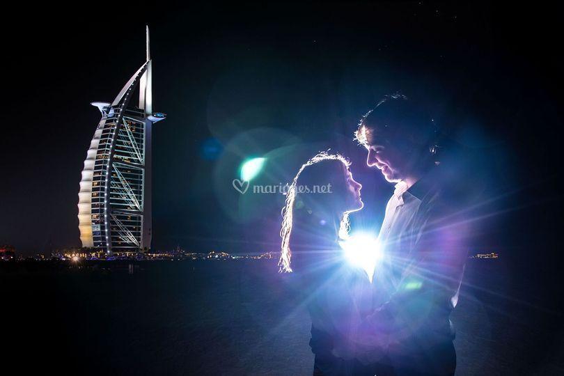 Shooting à Dubai
