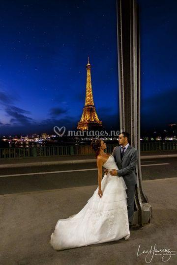 Photo de couple à Paris