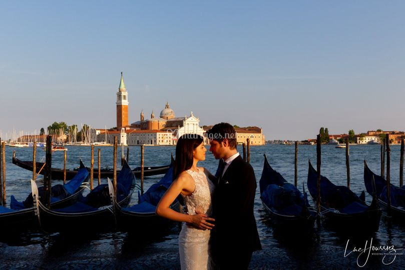 Photo de couple à Venise
