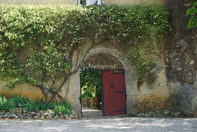 Porte château