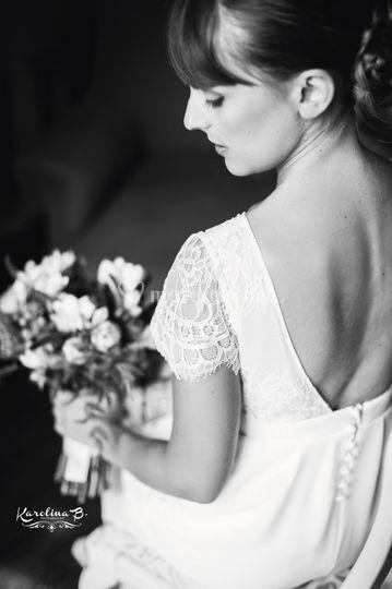 Robe de mariée Dos nu Magalie