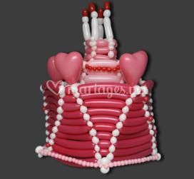 Gâteau de ballons