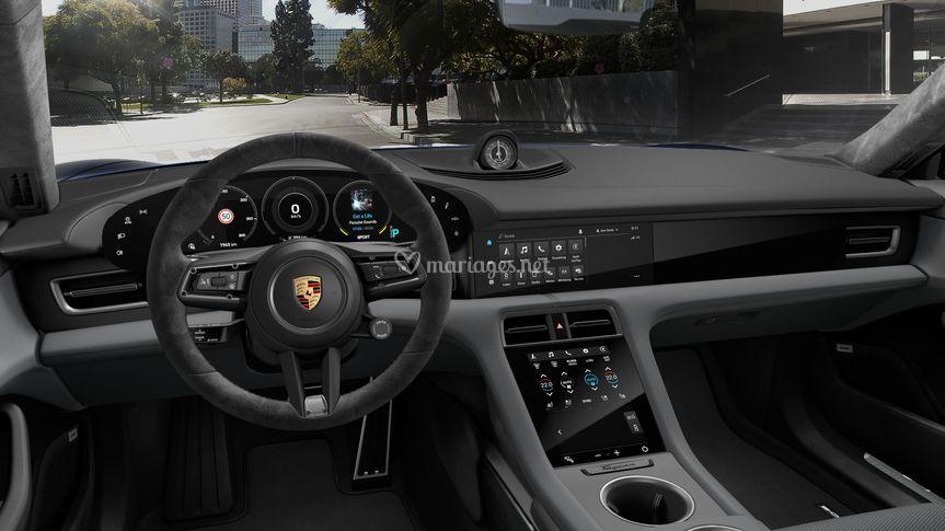Intérieur de Porsche