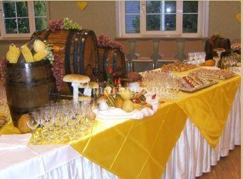 Décorations buffet