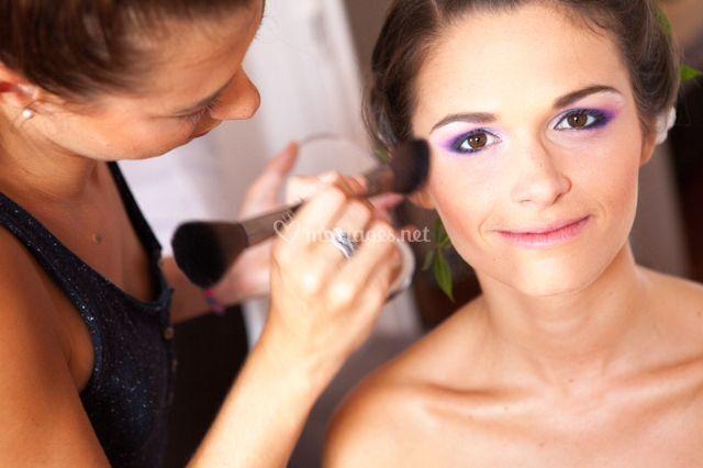 Maquillage Dmelle d'honneur