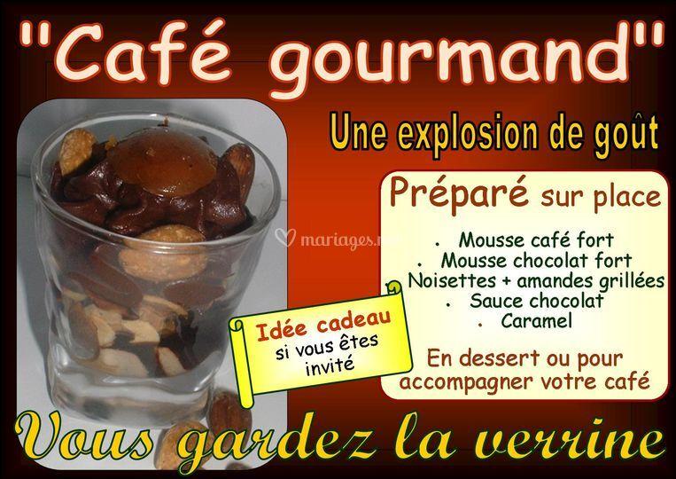 Verrine café gourmand