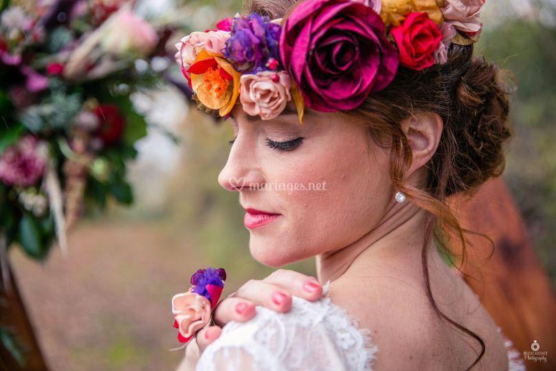 Mariée automne