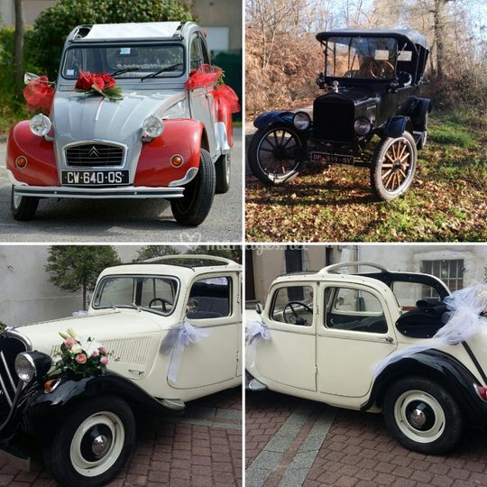 2CV, Traction et Ford T