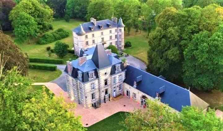 Le Château vue du ciel