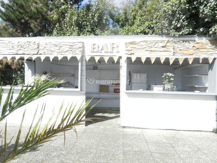 Le kiosque en terrasse