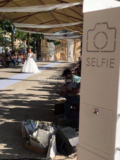 La Borne à Selfies