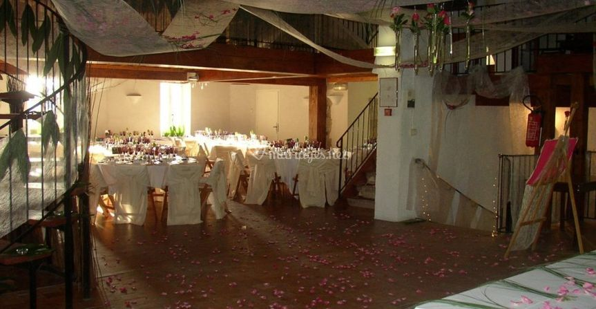 Décoration salle principale