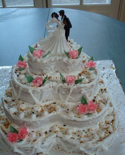 Gâteau de mariage de Délices des Antilles  Photos