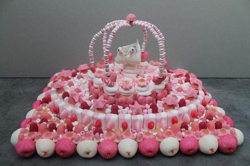 Gâteau colombes