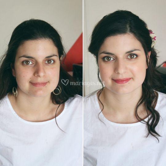 Avant / Après mise en beauté